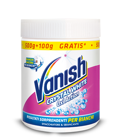 Vanish Oxi Action Crystal White Polvere